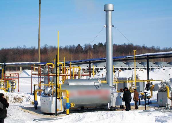 Подогреватель газа ПТПГ-30