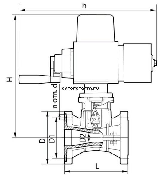 Задвижка шланговая ШГ3.505