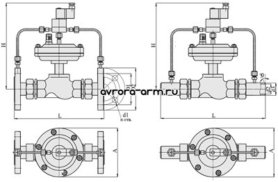 Регуляторы прямого действия: регуляторы давления, регуляторы температуры.  Запорная и регулирующая арматура.