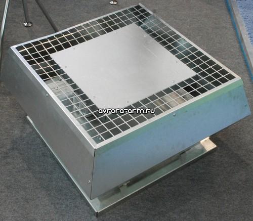 Вентиляторы крышные радиальные малой высоты КРОМ.